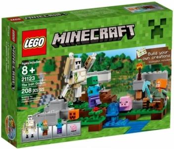 Konstruktorius 21123 LEGO Minecraft LEGO ir kiti konstruktoriai vaikams