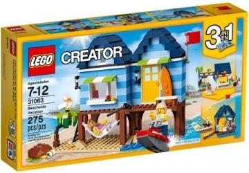 Konstruktorius 31063 LEGO® Creator Atostogos prie jūros NEW 2017!