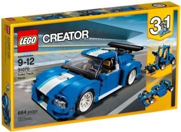 Konstruktorius 31070 LEGO® Creator Lenktynių Automobilis LEGO ir kiti konstruktoriai vaikams