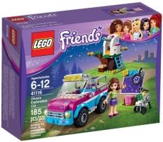 Konstruktorius 41116 Lego Friends Olivias Exploration Car LEGO ir kiti konstruktoriai vaikams