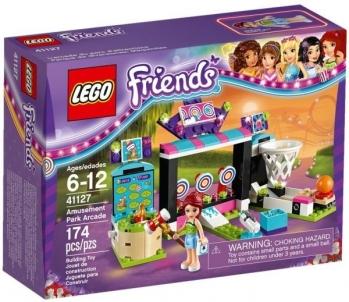 41127 LEGO Friends žaidimų automatų parkas, 6-12 m.
