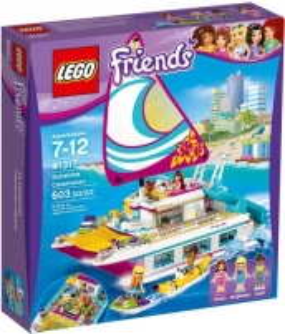 Konstruktorius 41317 LEGO® Friends Sunshine Boat NEW 2017! LEGO ir kiti konstruktoriai vaikams