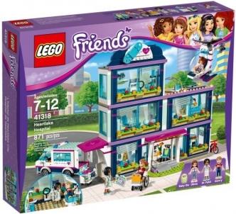 Konstruktorius 41318 LEGO® Friends Клиника Хартлейк-Сити, c 7 до 12 лет NEW 2017! Lego bricks and other construction toys