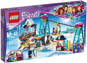 Konstruktorius 41324 LEGO® Friends Slidinėjimo kurorto keltuvas LEGO ir kiti konstruktoriai vaikams