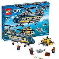 Konstruktorius 60093 LEGO City Deep Sea Helicopter NEW 2015! LEGO ir kiti konstruktoriai vaikams