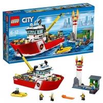 Konstruktorius 60109 Lego City Fire Boat LEGO ir kiti konstruktoriai vaikams