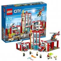 Konstruktorius 60110 Lego City Пожарная часть Lego bricks and other construction toys