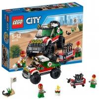 Konstruktorius 60115 Lego City 4 x 4 Off Roader 2016