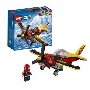 Konstruktorius 60144 LEGO® City Lenktynių lėktuvas