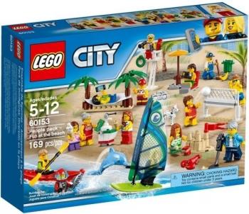 Konstruktorius 60153 LEGO® City Отдых на пляже - жители LEGO CITY, c 5 до 12 лет NEW 2017! Lego bricks and other construction toys