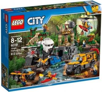 Konstruktorius 60161 LEGO® City Džiunglių tyrinėtojų bazė LEGO ir kiti konstruktoriai vaikams
