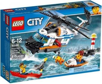 Konstruktorius 60166 LEGO® City Gelbėtojų Sraigtasparnis NEW 2017!
