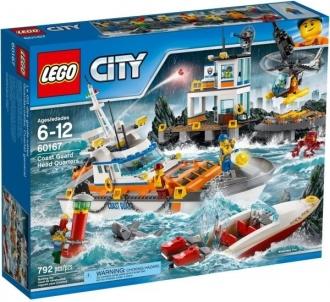 Konstruktorius 60167 LEGO® City Krantinės apsaugos būstinė LEGO ir kiti konstruktoriai vaikams