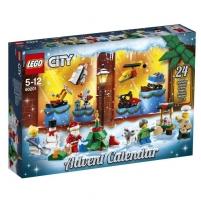 Konstruktorius 60201 LEGO® City Naujųjų metų kalendorius, c 5 до 12 лет NEW 2018! LEGO ir kiti konstruktoriai vaikams
