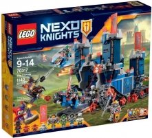 Konstruktorius 70317 Lego Nexo Knights Фортрекс - мобильная крепость Lego bricks and other construction toys