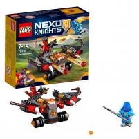 70318 LEGO Nexo Knights raketų kamuolys, nuo 7 iki 14 metų