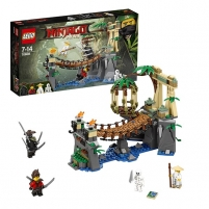 Konstruktorius 70608 LEGO® Ninjago Garmadono mūšis ir meistras VU, 7-14 m. NEW 2017! LEGO ir kiti konstruktoriai vaikams