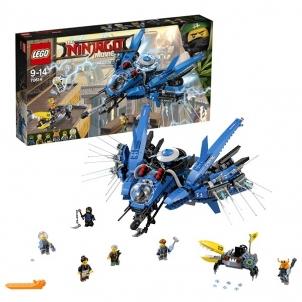 Konstruktorius 70614 LEGO® Ninjago Žaibiškas lėktuvas, 9-14 m. NEW 2017! LEGO ir kiti konstruktoriai vaikams