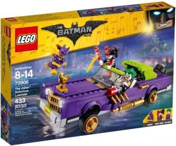 Konstruktorius 70906 Lego BATMAN Movie The Joker Notorious Lowrider , 2017