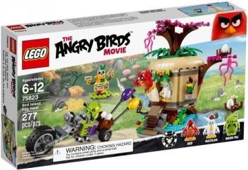 Konstruktorius 75823 LEGO Angry Birds kiaušinio vagystė, 6-12 m. NEW 2016!