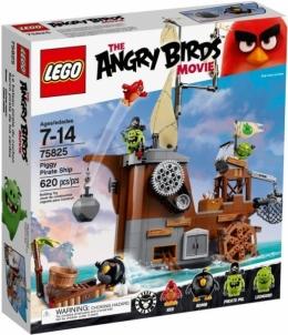 Konstruktorius 75825 LEGO Angry Birds Piggy piratų laivas