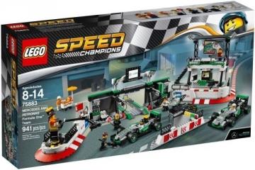 Konstruktorius 75883 LEGO® Speed Champions MERCEDES AMG PETRONAS Formula One Team, c 8 до 14 лет LEGO ir kiti konstruktoriai vaikams