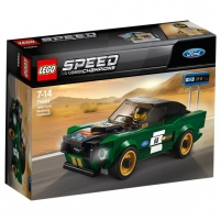 Konstruktorius 75884 LEGO® Speed Champions Ford Mustang Fastback, nuo 7 iki 14 m NEW 2018!