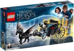 Konstruktorius 75951 LEGO® Fantastic Beasts Grindelwald´s Escape, c 7 до 14 лет NEW 2018! LEGO ir kiti konstruktoriai vaikams
