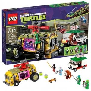 Konstruktorius 79104 Lego Ninja Turtles The Shellraiser Street Chase LEGO ir kiti konstruktoriai vaikams