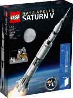 Konstruktorius 92176 LEGO® NASA Apollo Saturn V, c 14+ лет NEW 2020! Lego bricks and other construction toys
