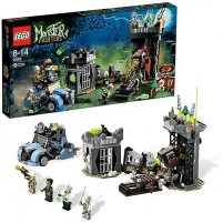 9466 LEGO Monster Fighters The Crazy Scientist Lego bricks and other construction toys