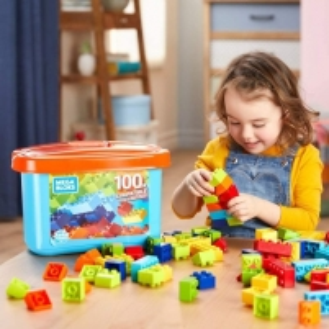 Konstruktorius GDJ21 Mega Bloks Mini Bulk Tub - Small