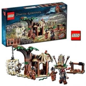 Konstruktorius Lego 4182 Pirates of the Caribbean The Cannibal Island LEGO ir kiti konstruktoriai vaikams