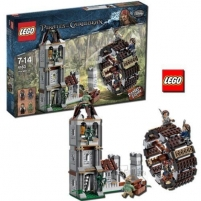 Lego 4183 Pirates of the Caribbean The Mill Lego bricks and other construction toys