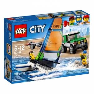 Konstruktorius LEGO 4x4 with Catamaran