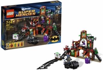Konstruktorius Lego 6857 Super Heroes The Dynamic Duo Funhouse Escape LEGO ir kiti konstruktoriai vaikams