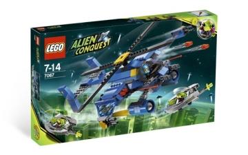 Konstruktorius Lego 7067 Alien Conquest Jet - Copter Encounter