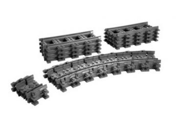 Konstruktorius Lego 7499 City Flexible and Straight Tracks