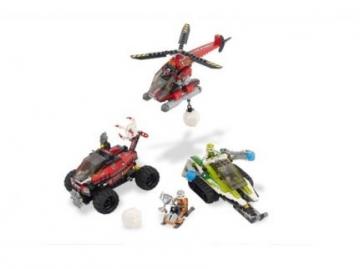 Konstruktorius Lego 8863 World Racers Blizzard's Peak LEGO ir kiti konstruktoriai vaikams