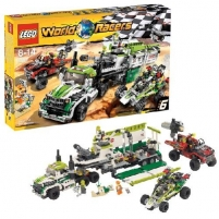 Lego 8864 World Racers Desert Of Destruction Lego bricks and other construction toys