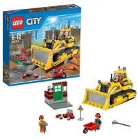 Konstruktorius LEGO Bulldozer 60074 LEGO ir kiti konstruktoriai vaikams