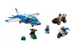 Konstruktorius Lego City 60208 Sky Police Parachute Arrest LEGO ir kiti konstruktoriai vaikams