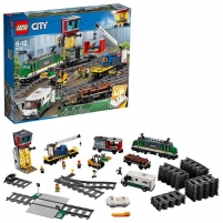 Konstruktorius Lego City Товарный поезд 60198 LEGO ir kiti konstruktoriai vaikams