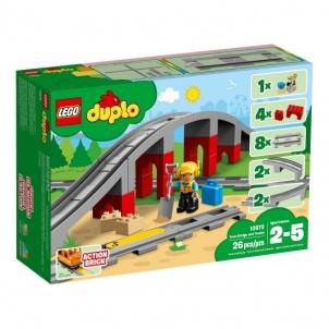 Konstruktorius LEGO Duplo 10872 Train Bridge and Tracks E0722