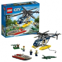 Konstruktorius LEGO Helicopter Pursuit 60067