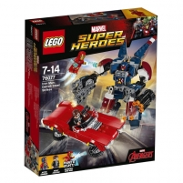 Konstruktorius LEGO Iron Man:Detroit Steel Strikes