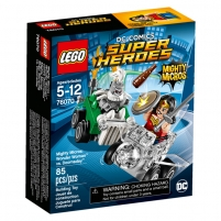 Konstruktorius LEGO Mighty Micros:Wonder Woman vs.Doomsday