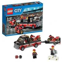 Konstruktorius LEGO Racing Bike Transporter 60084