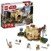 Konstruktorius Lego Star Wars 75208 Yodas Hut LEGO ir kiti konstruktoriai vaikams