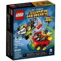 Konstruktorius Lego Super Heroes 76062 Mighty Micros: Robin vs Bane